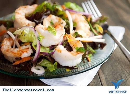 Salad tôm chua cay