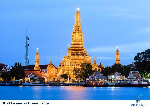Chùa Wat Arun/ Chùa Bình Minh
