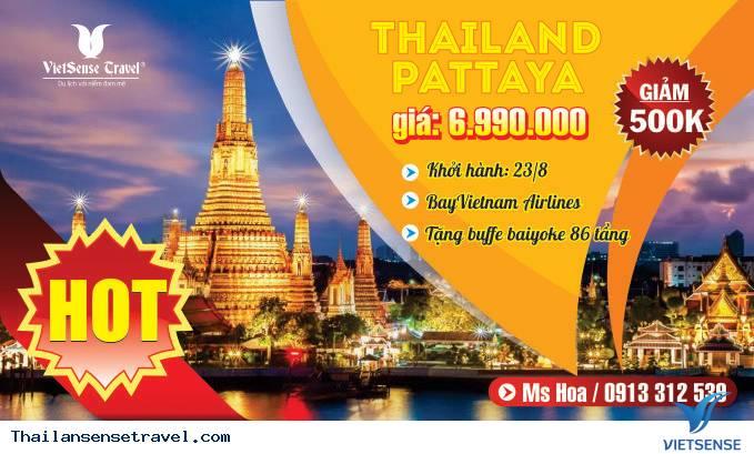 Tour Du Lịch Bangkok - Pattaya