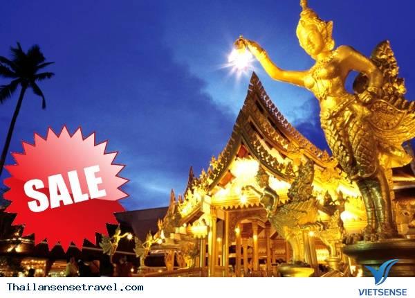 Tour Du Lịch Thái Lan : Bangkok - Pattaya Khởi hành