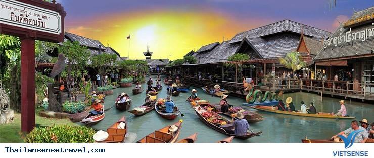 Bangkok - Pattaya 5N4Đ khởi hành tháng 01, 02, 03 Từ TP. Hồ Chí Minh