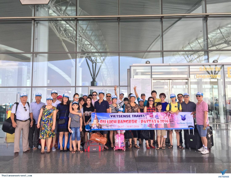 Tour Du Lịch Thái Lan: Bangkok- Pattaya Khởi hành từ Hà Nội