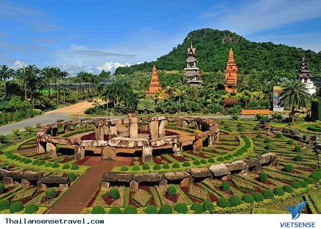 Vẻ đẹp tiềm ẩn của khu du lịch sinh thái Nong Nooch tại Thái Lan - Ảnh 1